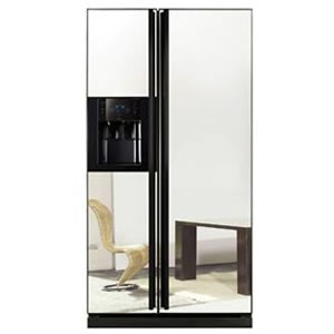 Samsung RSH1DLMR American Style Fridge With Mirror Finish